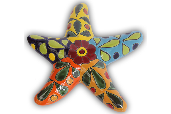 Talavera Wall Art starfish wall art - palmetto moon products